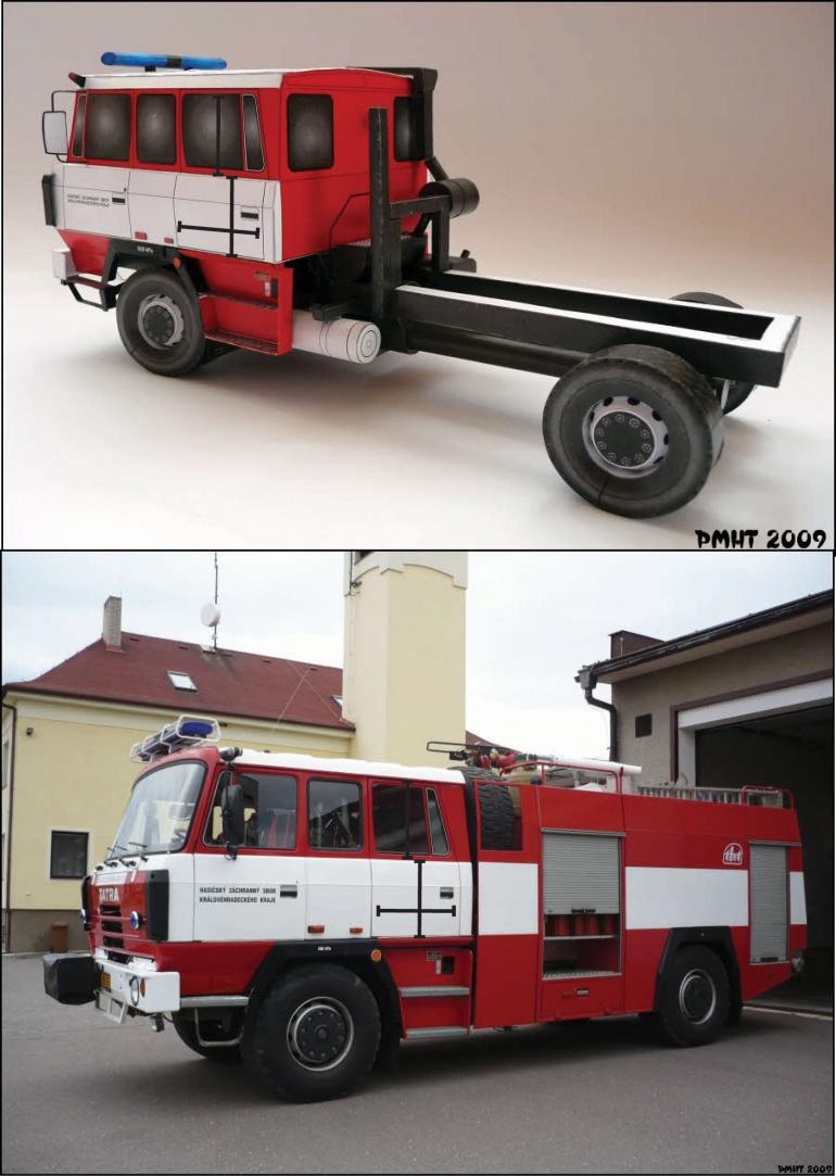 Tatra 815 dlouhá kabina - technické poznámky