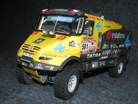 Tatra 815 JAMAL ZO R45 12.400 4x4.1 - Dakar 2012
