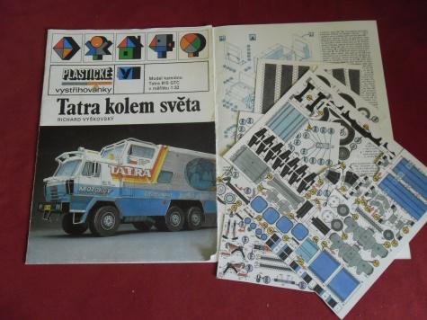 Tatra 815 Kolem světa