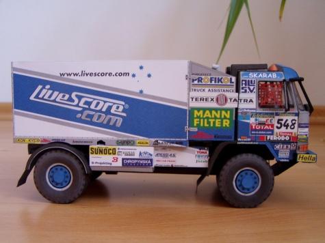 Tatra 815 Dakar letka racing team