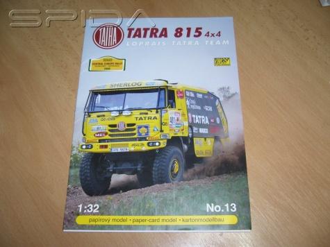 Tatra 815 Loprais Tatra team CER 2008