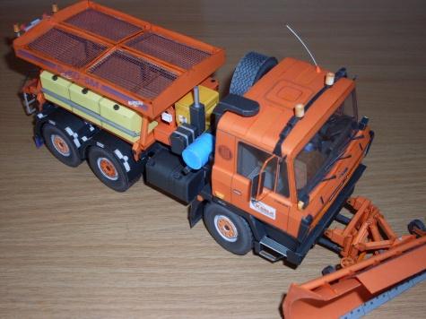 Tatra 815 NTH 6x6 nástavba SYKO 5M a radlice