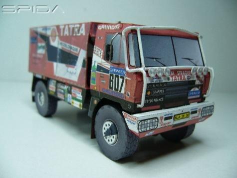 Tatra 815 VD 10 300 4 x 4.1   Dakar 1988