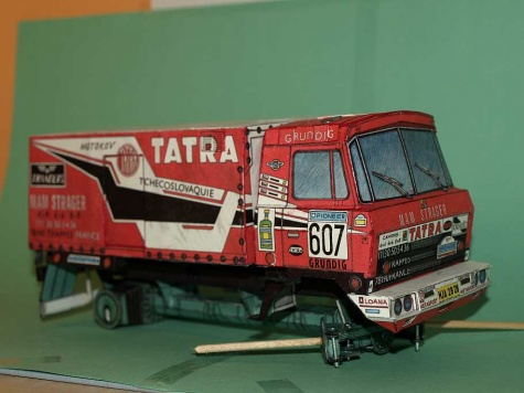 TATRA 815 VD 10 300 4X4.1 DAKAR ´88