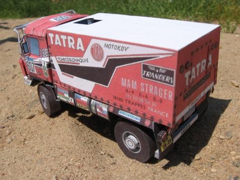 Tatra 815 VD 10 300 Dakar 1988