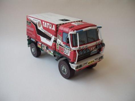 Tatra 815 VD 10 300 Dakar 88