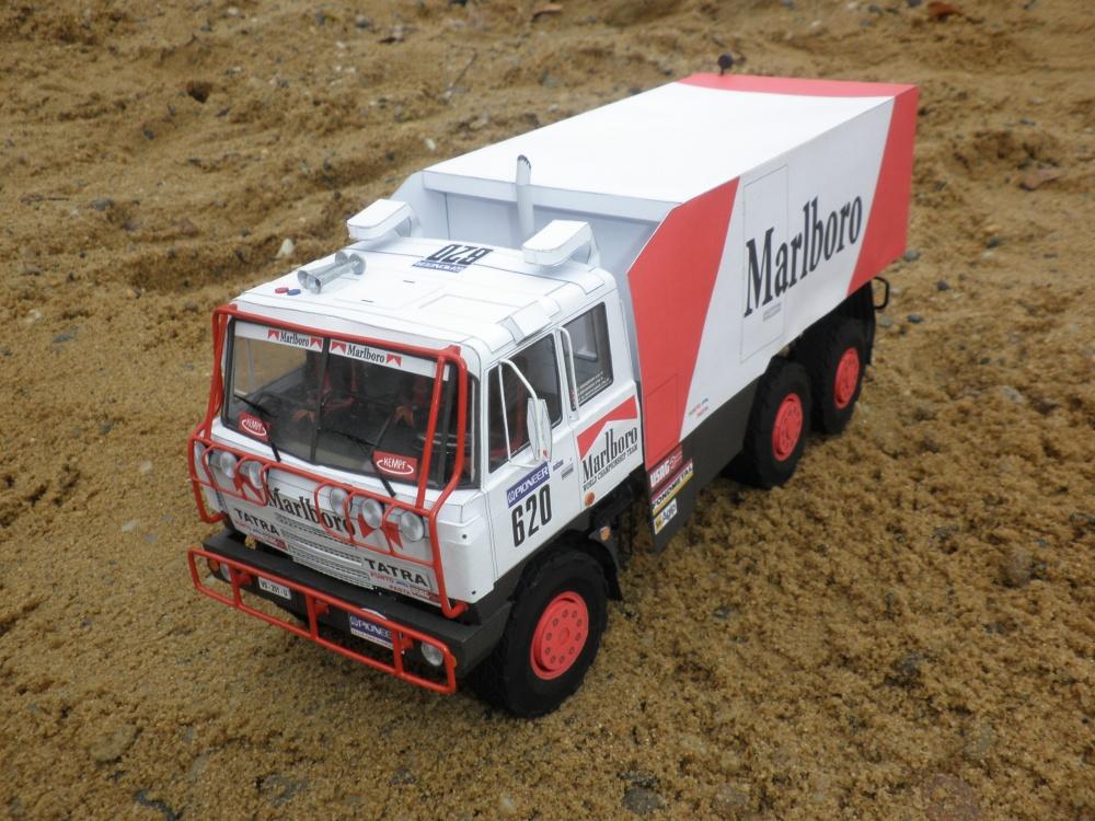 Tatra 815 VD 13 350 6x6.1 Dakar 1988 Clay Regazzoni