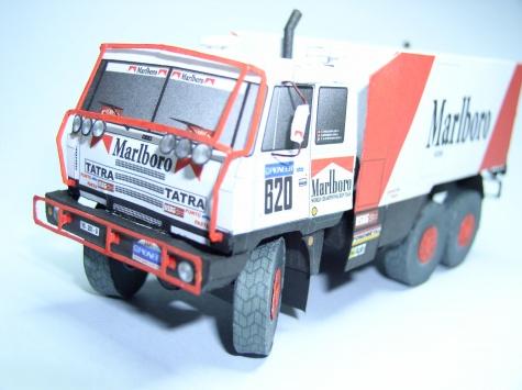 Tatra 815 VD 13 350 6x6.1 Dakar 1988-Regazzoni