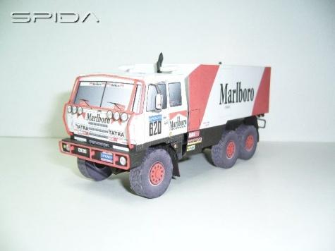 Tatra 815 VD 13 350 6x6.Clay Regazzoni 1988
