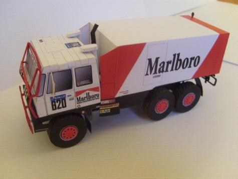 Tatra 815 VD 13 350 6x6 Dakar 1988, Regazzoni, (Spida, 1:53)