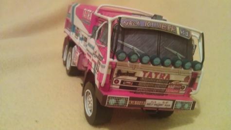Tatra 815 VE Dakar 1986