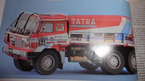 Tatra 815 ve ralye Paris dakar