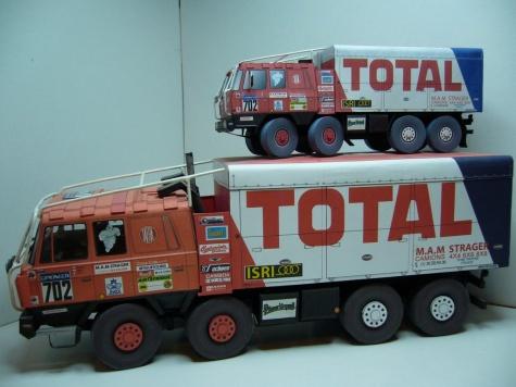 Tatra 815 VT 26 265 8X8 TOTAL Dakar 1988