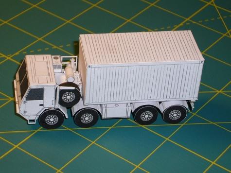 Tatra 815-7 8x8  nosič kontejnerů