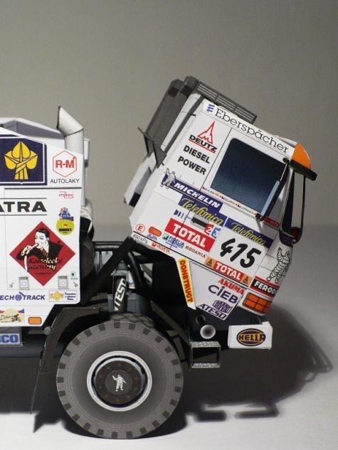 Tatra Puma Evo III Dakar 2006