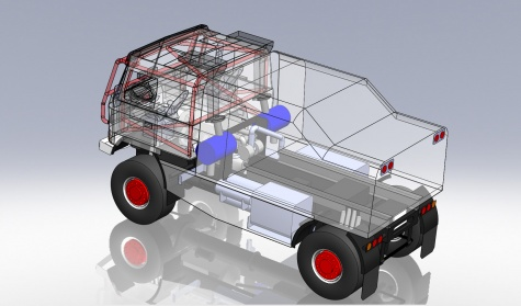 Tatra rally truck