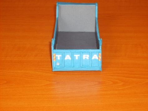 TATRA T 163 JAMAL - TEŽKY JEDNOSTRANNÝ SKLAPAČ