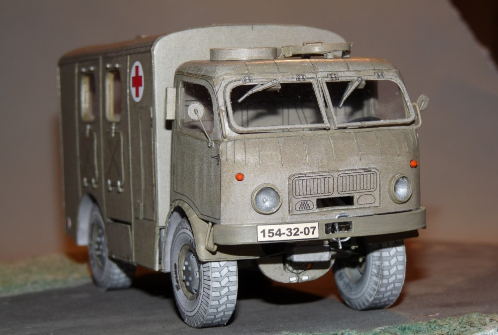 TATRA T805 Ambulance