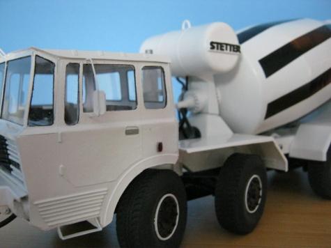 Tatra T813 Stetter-domíchávač betonu