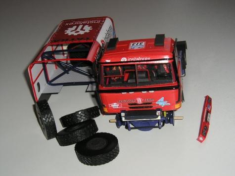 TATRA T815 4x4 DAKAR, SVOBODA TEAM, SWR 2012
