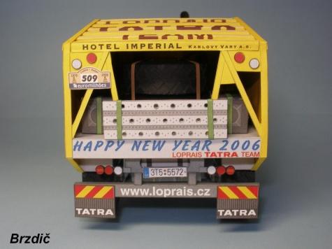 TATRA T815 4x4 DAKAR 2006