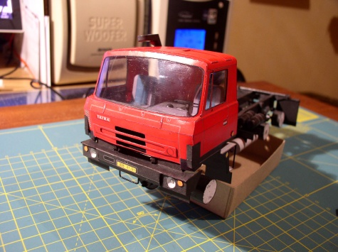 Tatra T815 S3 26 208 6x6.2 - třístranný sklápěč