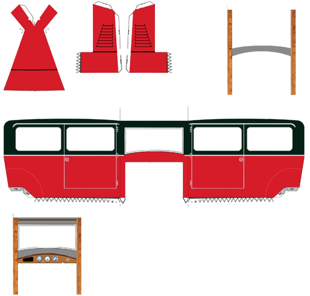 Tatra 12 - pevná dvoudveřová limuzína