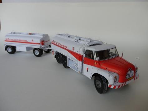 Tatra 138 C-12 + CP-11 Benzina