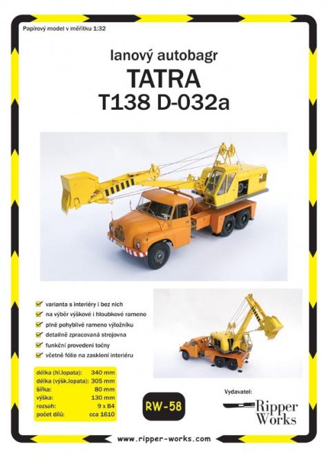 TATRA 138 D 032a