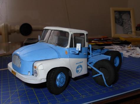 Tatra 138 NT 4x4 + návěs Orličan N12CH