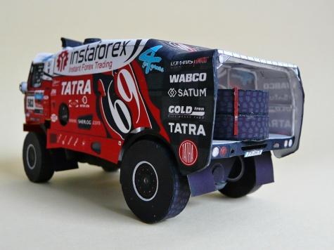 Tatra 815-2 Z0 R45 12.400 4x4.1 - Loprais Team Dakar 2013