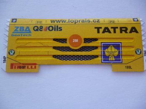 Tatra 815 4x4, Dakar 2007, A. Loprais