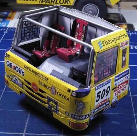 Tatra 815 4x4 Loprais Tatra Team