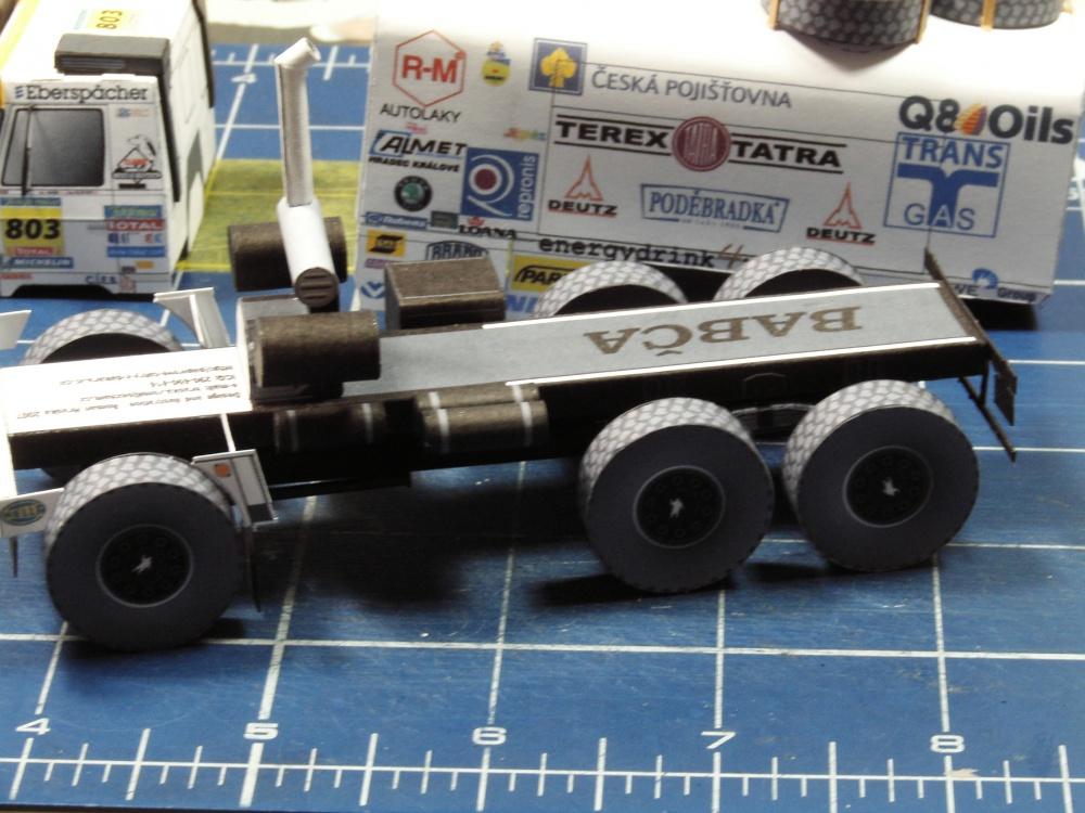 Tatra 815 6x6 Dakar 2005 Babča