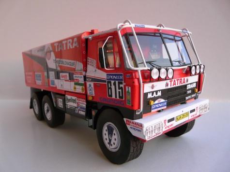 Tatra 815 6x6 VD 13 350 Dakar 1988