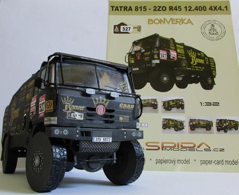 Tatra 815 Bonverka - 2Z0 R45 12.400 4X4.1, Dakar 2012