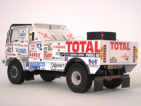 Tatra 815 Dakar 1998 - Blekota