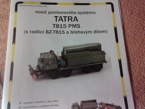 TATRA 815 PMS břehový díl