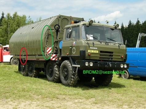 Tatra 815 PMS (břehový díl  + BZ-T815)