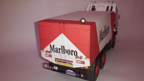 Tatra 815 VD 13 350 6*6.1 Dakar 1988 C.Regazzoni