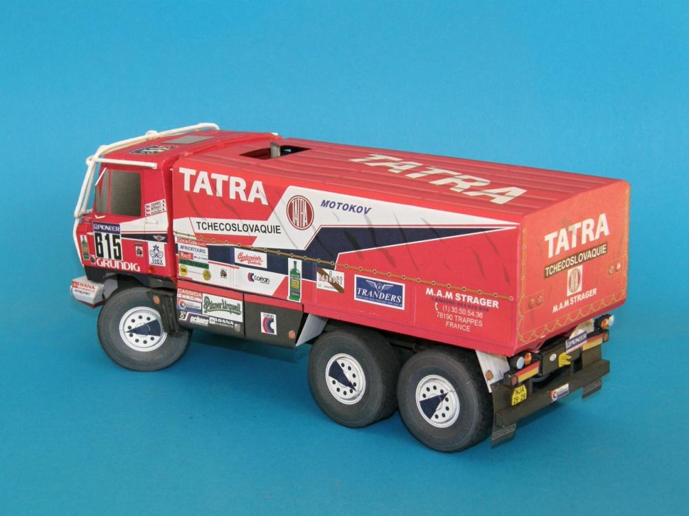 Tatra 815 VD 13 350 6x6 Dakar 1988