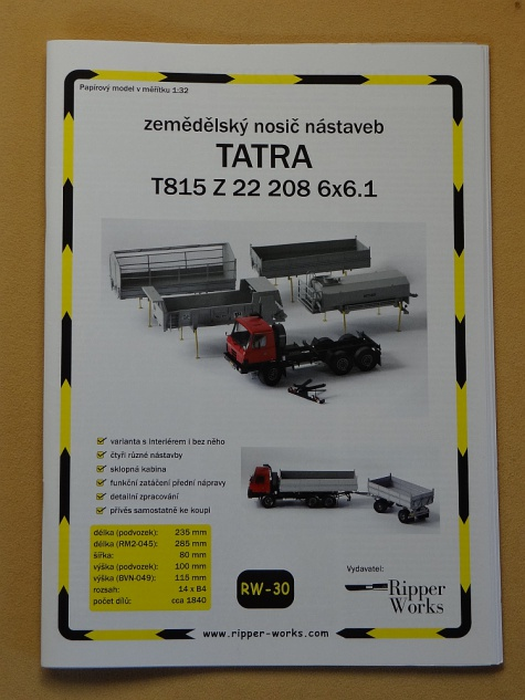 Tatra 815 Z 22 208 6x6.1 (Agro)