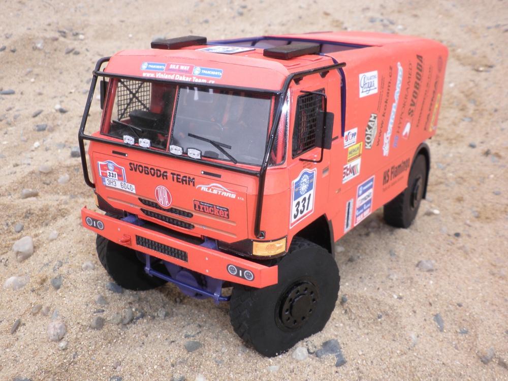 Tatra T 815 4x4 Dakar Silk Way 2011