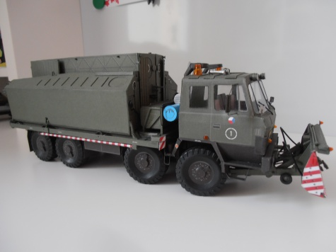 Tatra T815 PMS - s radlicí BZ-T815 a břehovým dílem