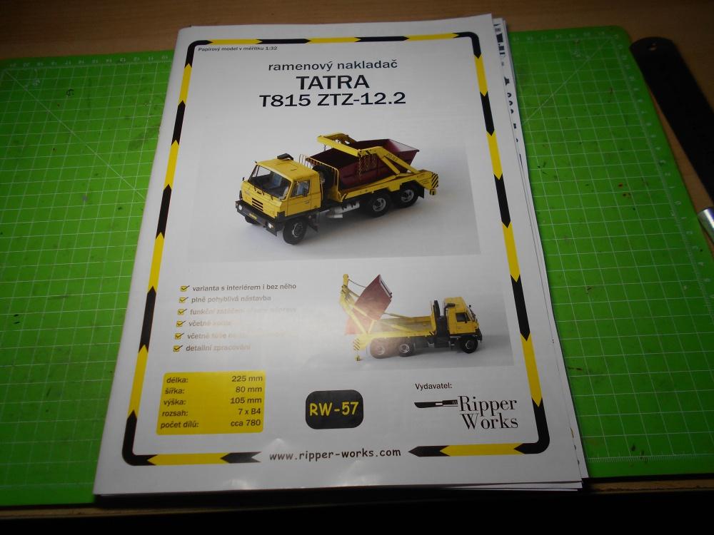 Tatra T815 ZTZ-12.2 - ramenový nakladač