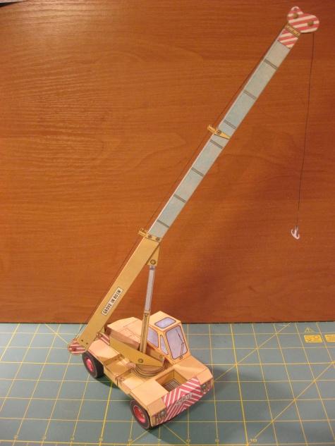 Teleskopický jeřáb Growe-Bencini
