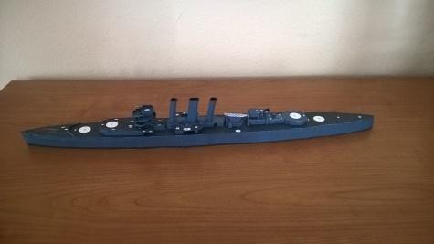 Těžký křižník HMAS Canberra