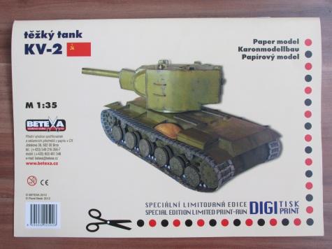 Těžký tank KV-2
