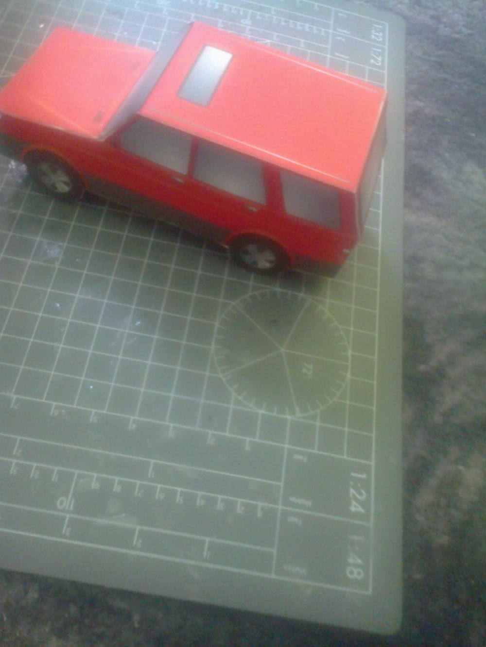 Teréní auto