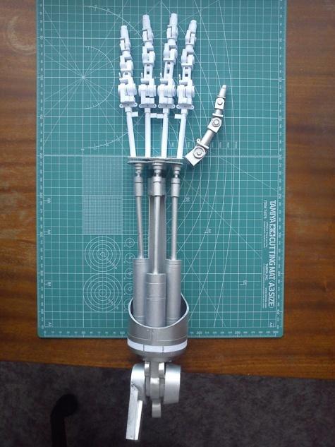 Terminator Endoskeleton hand